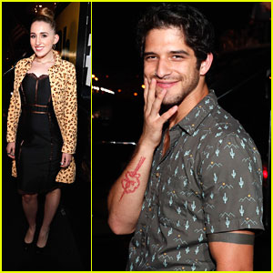 Tyler Posey Parties With 'Teen Wolf' Cast at IMDb Comic-Con Party