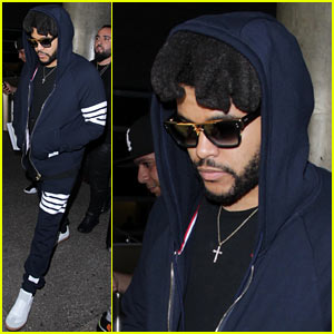 The Weeknd Arrives in LA Following His Performance in St. Tropez