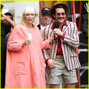 Tilda Swinton Joins Jake Gyllenhaal for 'Okja' Scenes in NYC!