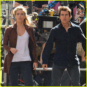 Tom Cruise Gets Back Into Action for 'The Mummy' with Annabelle Wallis!