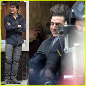 Tom Cruise Wraps Up Final Scenes for 'The Mummy'!