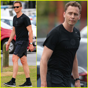 Tom Hiddleston Goes For a Jog After First Interview About Taylor Swift