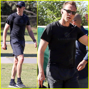 Tom Hiddleston Heads Out on a Jog After Arriving in Australia With Taylor Swift