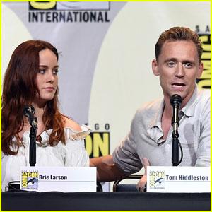 Tom Hiddleston & Brie Larson Bring 'Kong: Skull Island' to Comic-Con 2016