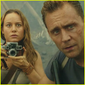 Tom Hiddleston & Brie Larson's 'Kong: Skull Island' Trailer Debuts - Watch Now!