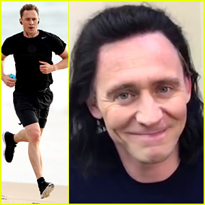 Tom Hiddleston Puts On His Loki Wig for UNICEF Video