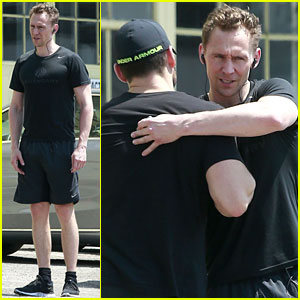 Tom Hiddleston Gets In a Weekend Workout in WeHo
