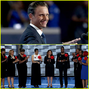 Tony Goldwyn Joins 'Mothers of the Movement' at DNC 2016 (Video)