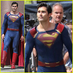 Tyler Hoechlin Films First Scenes as Superman For 'Supergirl'