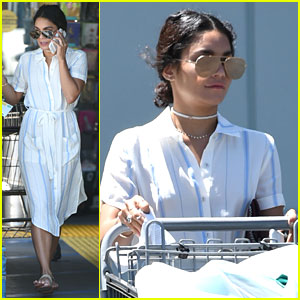 Vanessa Hudgens Goes Grocery Shopping After 'Grease Live' Emmy Noms Announcement