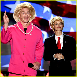 John Cena Dresses in Drag as Hillary Clinton at Teen Choice Awards 2016!