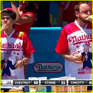 Who Won Nathan's Hot Dog Eating Contest 2016?