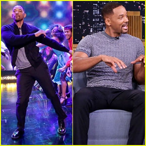 Will Smith Has Three Amazing Entrances On 'The Tonight Show'!