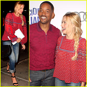 Will Smith Raps 'Miami' at 'Suicide Squad' Block Party! (Video)