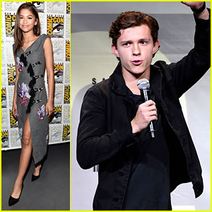 Tom Holland & Zendaya Lead 'Spider-Man: Homecoming' Cast To Comic-Con