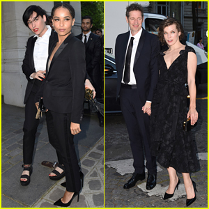 Zoe Kravitz & Milla Jovovich Put On Their Best For Vogue Foundation Gala 2016!