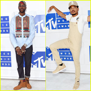 2 Chainz & Chance the Rapper Hit Up MTV VMAs 2016