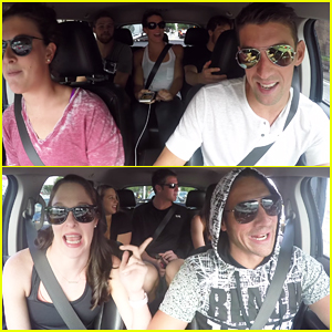 2016 USA Olympic Swim Team Do Carpool Karaoke! (Video)