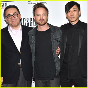 Aaron Paul Premieres 'Kingsglaive: Final Fantasy XV' in NYC