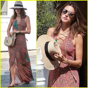 Alessandra Ambrosio Spends the Day With Her 'Little Squad'