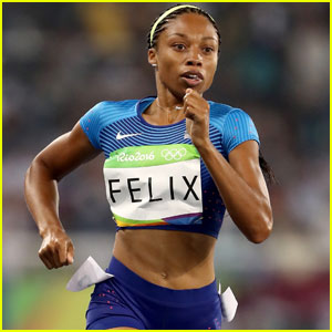 Allyson Felix Takes First in 400m Semifinals at Rio Olympics!