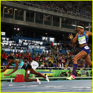 Allyson Felix Takes Silver in Women's 400m After Shaunae Miller Dives Across Finish Line