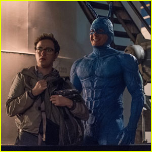 Amazon's 'The Tick' Pilot Gets First Photos Featuring Peter Serafinowicz