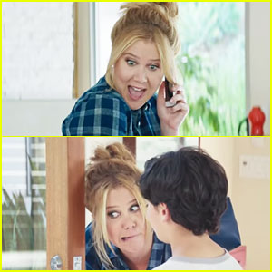 Amy Schumer Plays a Crazy Aunt in Old Navy Commercial! (Exclusive Video)
