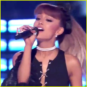 Ariana Grande Performs Whitney Houston Medley on 'Greatest Hits' (Video)