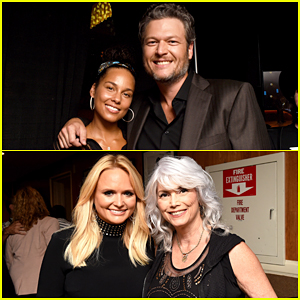 Blake Shelton, Miranda Lambert & Alicia Keys Celebrate ACM Honors 2016!