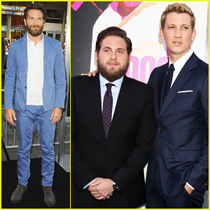 Bradley Cooper Joins Miles Teller & Jonah Hill At L.A 'War Dogs' Premeire!