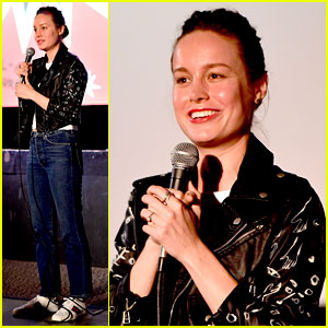 Brie Larson Recreates John Cusack's Iconic 'Say Anything' Pose