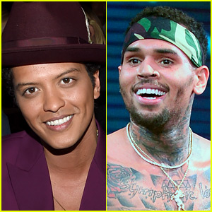 Bruno Mars Tweets His Support for Chris Brown