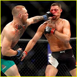 Celebrities React to UFC's McGregor & Diaz Fight - Read Tweets