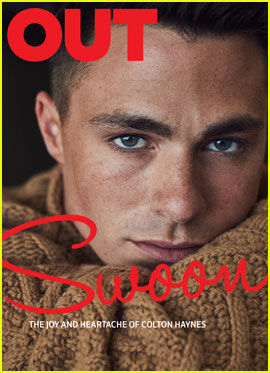 Colton Haynes Opens Up About His Anxiety  Before Coming Out