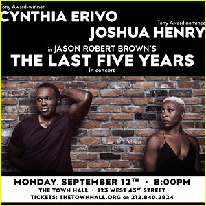 Cynthia Erivo & Joshua Henry to Perform 'Last Five Years' at One Night Only Concert