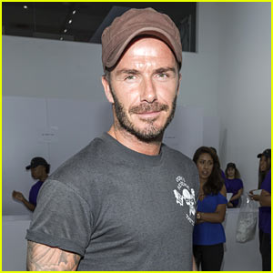 David Beckham Takes His Son Shopping at Kanye West's Pablo Pop-Up Store