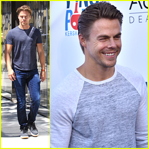 Derek Hough Says 'Grease' Raised The Bar for 'Hairspray Live'