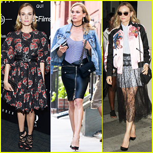 Diane Kruger Is Fashion Queen For NYC 'Disorder' Press!