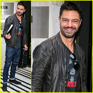 Dominic Cooper Promotes His New Play 'The Libertine' in London