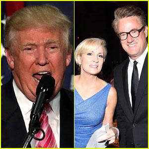 Donald Trump Claims MSNBC's Mika Brzezinski & Joe Scarborough Are a 'Long-Time' Couple