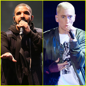 Drake Squashes Eminem Beef Rumors By Bringing Him on Stage in Detroit (Video)