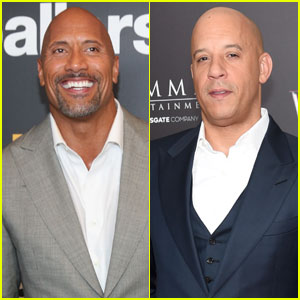 Dwayne Johnson & Vin Diesel Feud Brewing for Months - Report