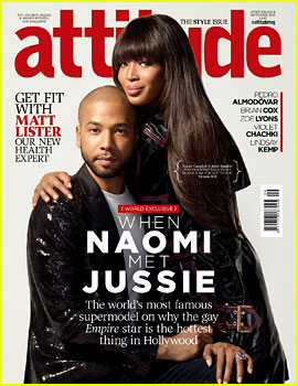 Empire's Naomi Campbell & Jussie Smollett Cover 'Attitude' Together!