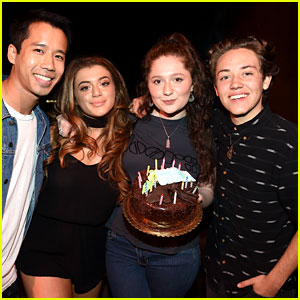 Shameless' Ethan Cutkosky Celebrates Birthday at JJJ's Disney Mix Party