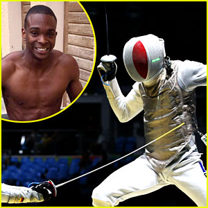 Fencer Enzo Lefort Drops Phone During Olympics Match (Video)
