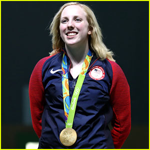 Ginny Thrasher Wins First Gold Medal for Team USA in Rio!