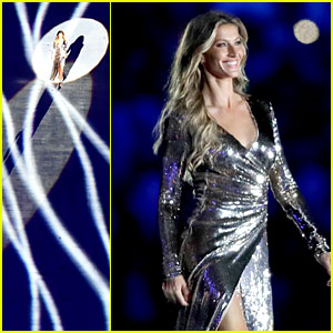 Gisele Bundchen Walks Final Runway at Rio Olympics Opening Ceremony as 'The Girl from Ipanema'