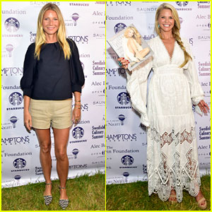 Gwyneth Paltrow & Christie Brinkley Celebrate Author's Night in the Hamptons