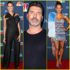Heidi Klum & Simon Cowell Kick Off 'America's Got Talent' Live Shows Week 3!